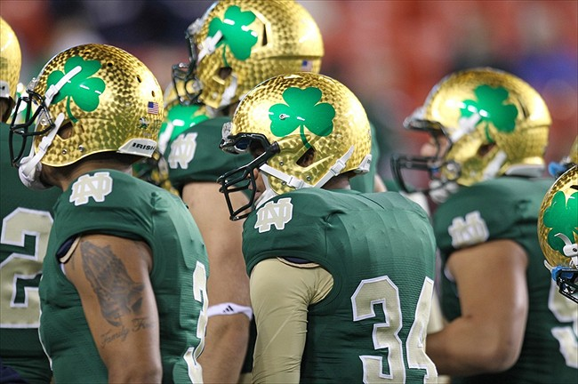 notre dame alternate uniform 3