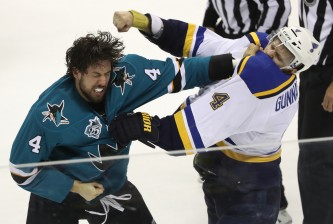 St Louis Blues v San Jose Sharks - Game Four