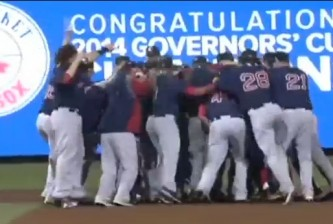 Governor's Cup champion Pawtucket Red Sox