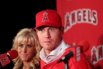 Los Angeles Angels of Anaheim Introduce Josh Hamilton
