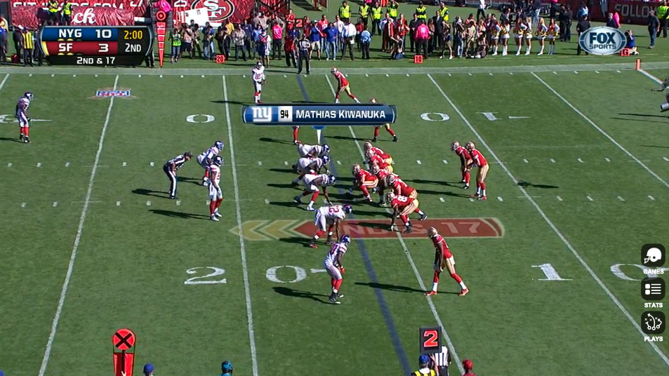 It appears that Mathias Kiwanuka is making the shift back to a more permanent role on the DL.